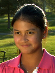 Golfer Kat Delen-Briones, guest on the Mental Game TV Show