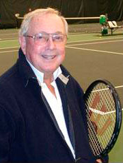 Tennis coach Vic Braden, special guest on the Mental Game TV Show